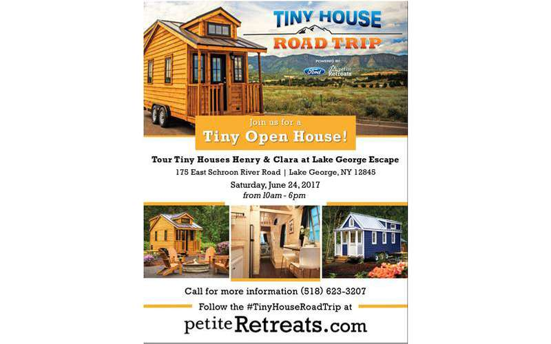 Tiny Open House at Lake George Escape (1)