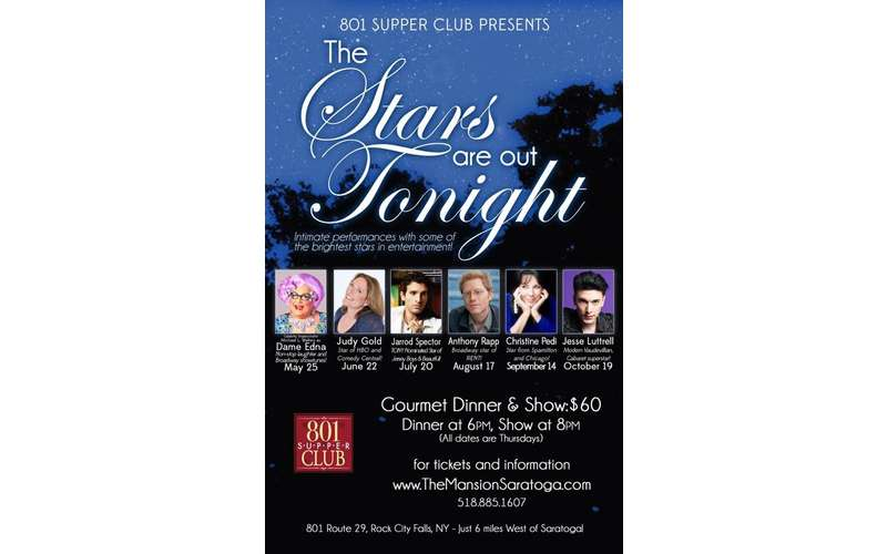 The Stars are out Tonight: Gourmet Dinner & Show (1)
