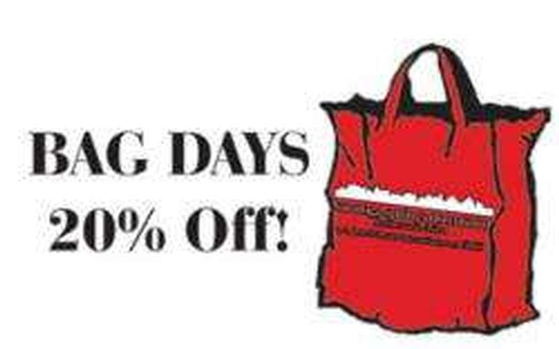 Bag Day - Save At Saratoga Local Bussinesses (1)