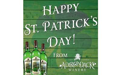 St. Patrick's Day Weekend Wine Tasting at Adirondack Winery!