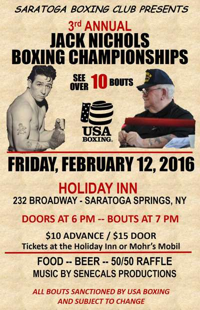 3rd Annual Jack Nichols Boxing Championships