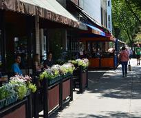 patio dining in saratoga