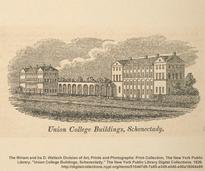old etching of union college