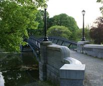 bridge in washington park