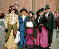 victorian stroll attendees