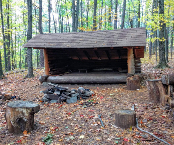 lean to in the adirondacks