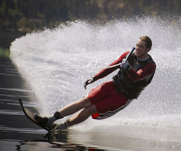 Waterskiing on Lake George