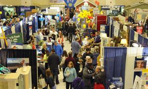 crowd at the lifestyle show