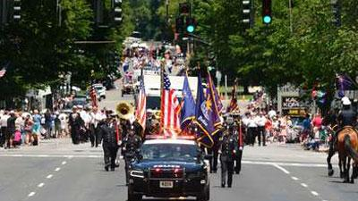 saratoga memorial day parade