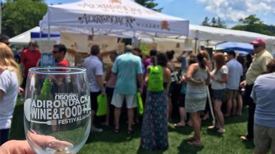 adirondack wine and food festival glass