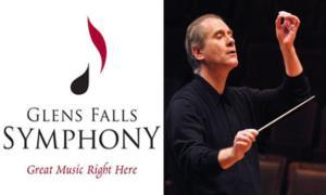 symphony logo and conductor
