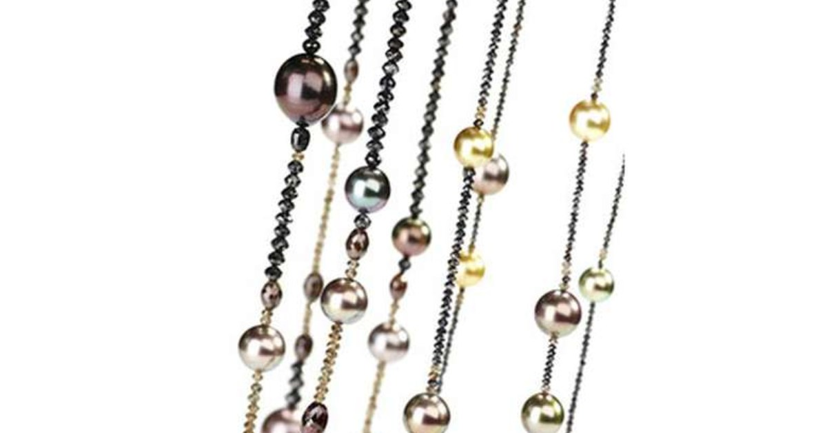 strands of jewelry beads