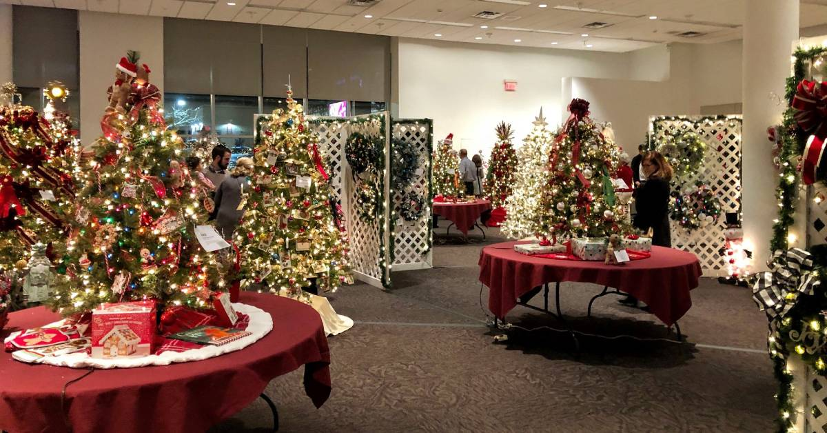 festival of trees event in a room