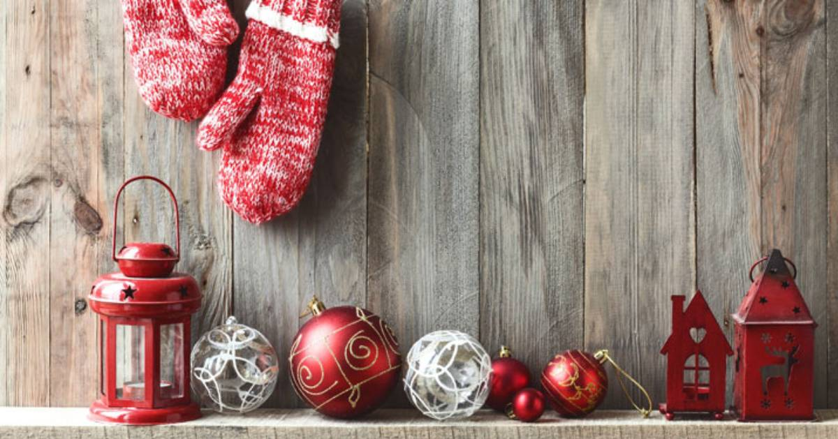 rustic holiday items