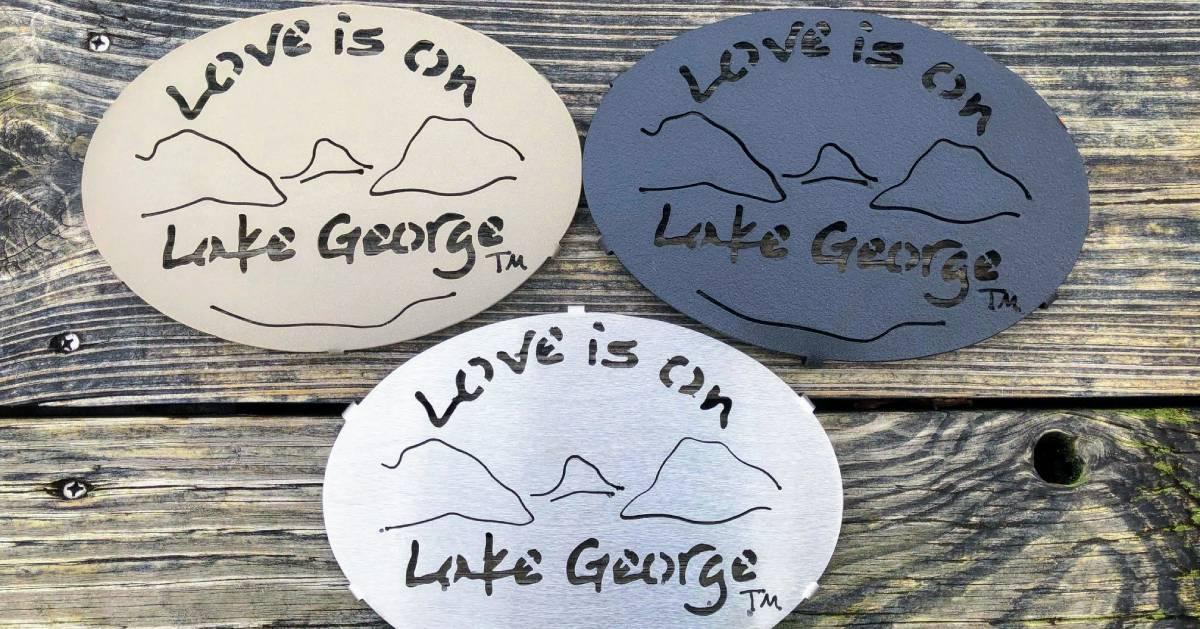 Love is on Lake George trinkets