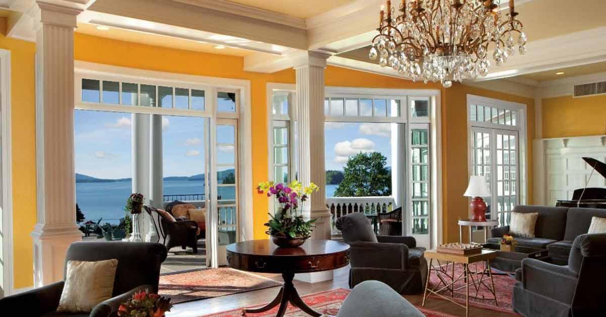 elegant hotel room
