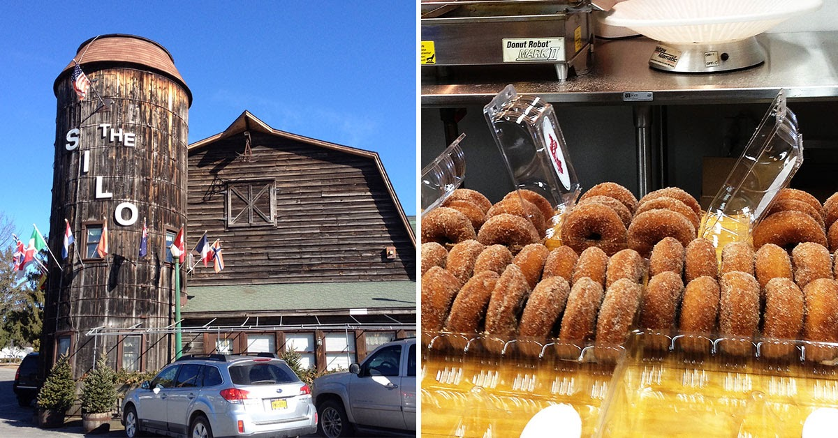 The Silo and apple cider donuts