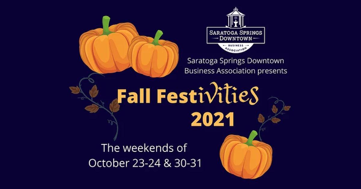 saratoga fall festivities logo