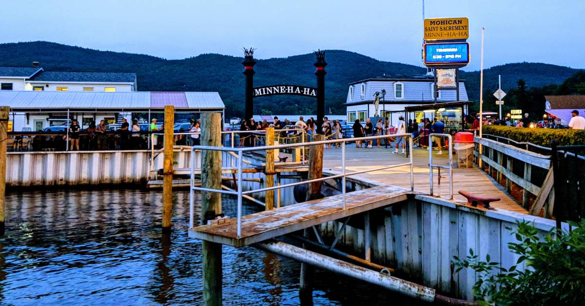 Minne Haha dock