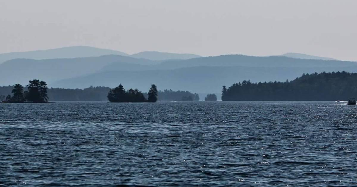 the Narrows in Lake George