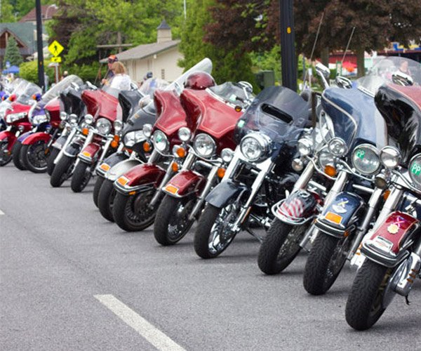 motorcycles in Lake George NY