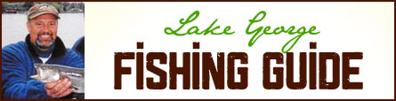 Lake George NY Fishing Guide Banner