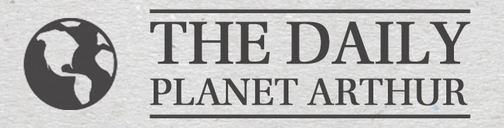 The Daily Planet Arthur Banner