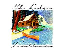 the lodges at cresthaven logo