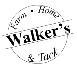 walker's farm home and tack logo