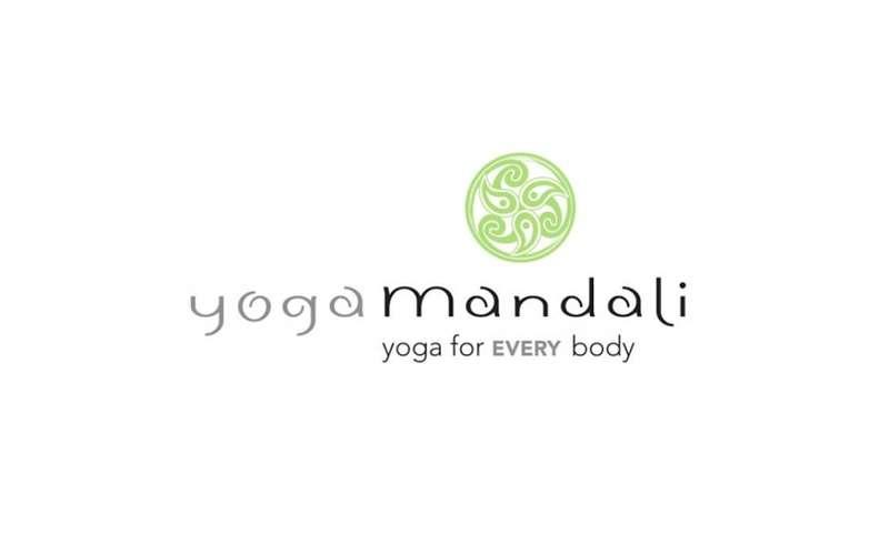 the logo for yoga mandali