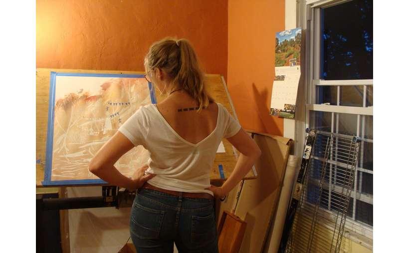 Alexis Grabowski, Individual Artist Grant Recipient