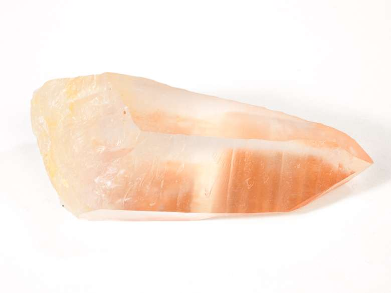 peach colored crystal