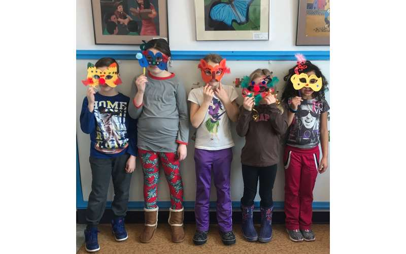 Make masks and memories at the World Awareness Children's Museum.