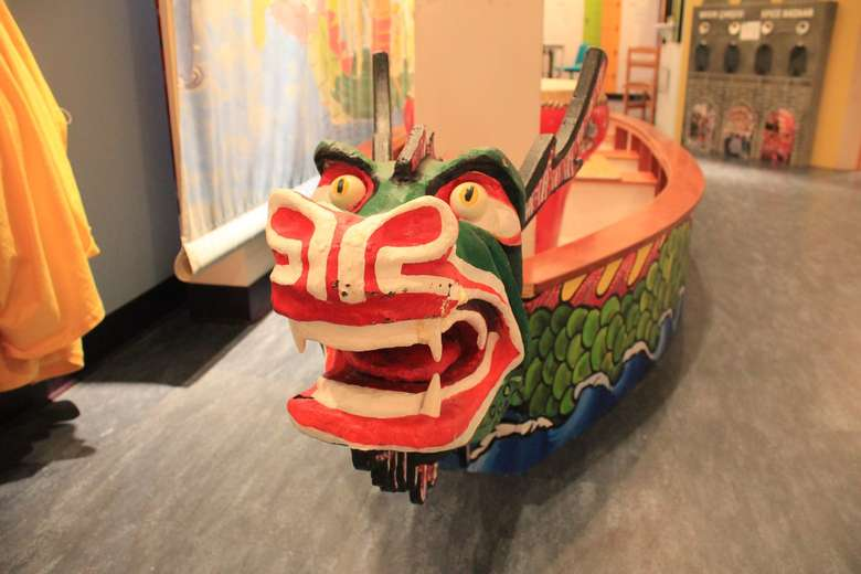 Our Taiwanese Dragon Boat.