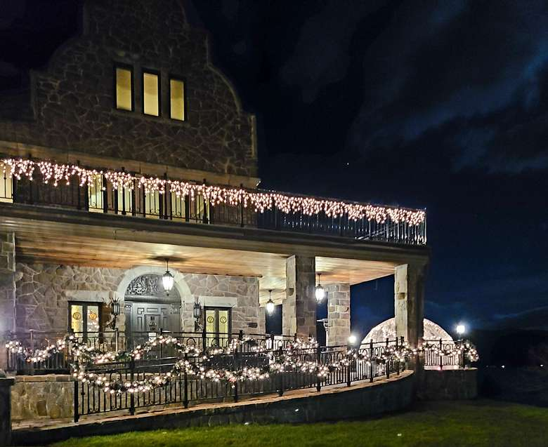 The Inn at Erlowest during the Holidays