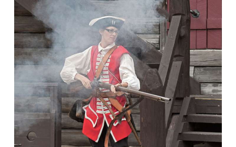 Musket Shooting