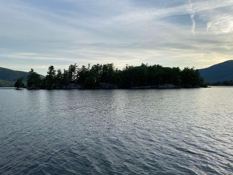 burgess island on lake george
