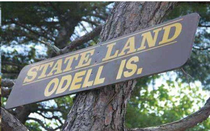 &quote;State Land Odell Is.