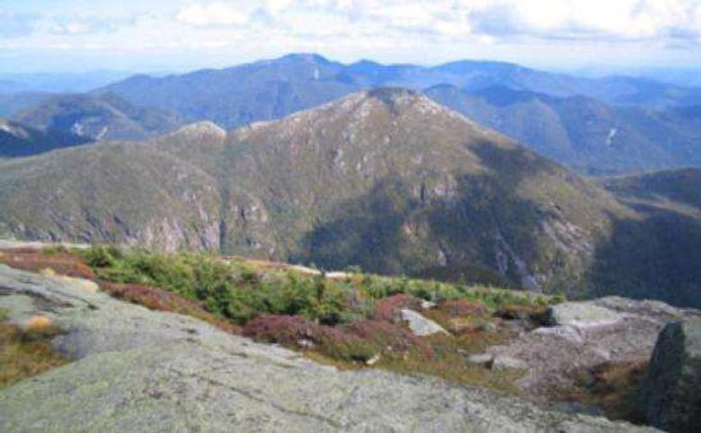 rocky mountain summits as seen from another mountain summit