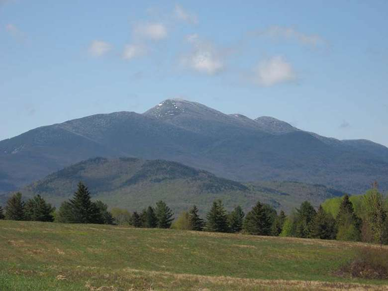Algonquin Peak as seen from Adirondack Loj in summer