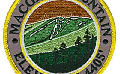 patch that says macomb mountain elevation 4405'