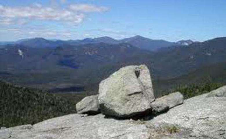 cairn on a mountain summit