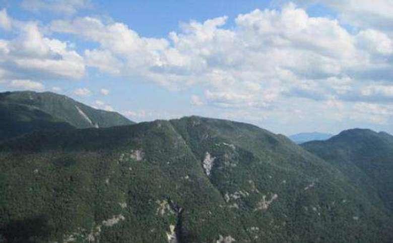 several mountain summits
