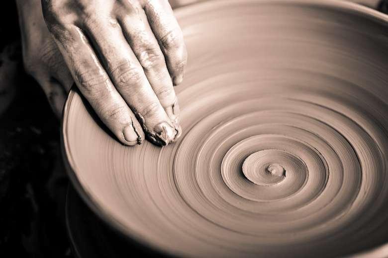 wheel throwing
