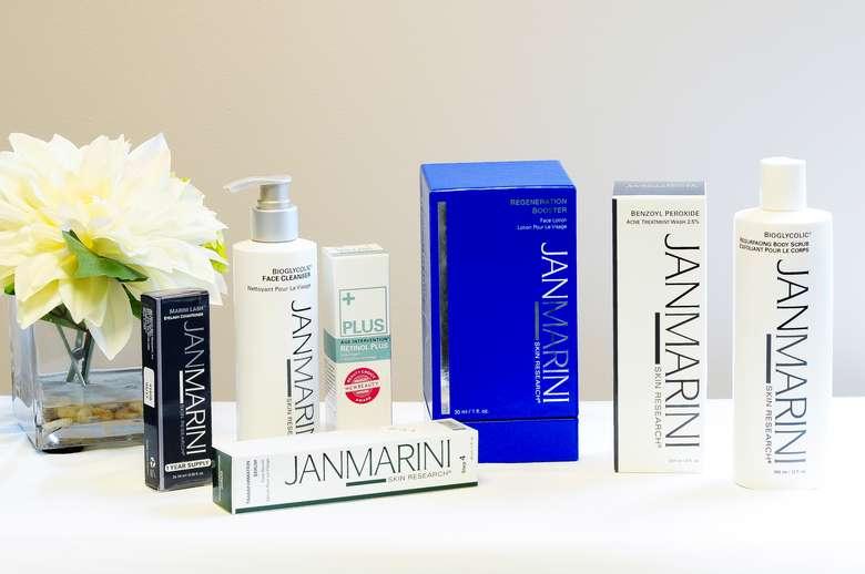 line of janmarini products