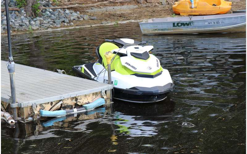 Rent at jet ski through River Ridin' and go for a thrilling ride.