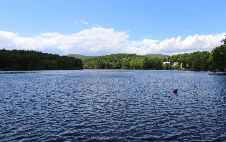 nice view of the lake