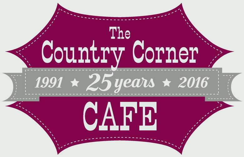 the country corner cafe logo