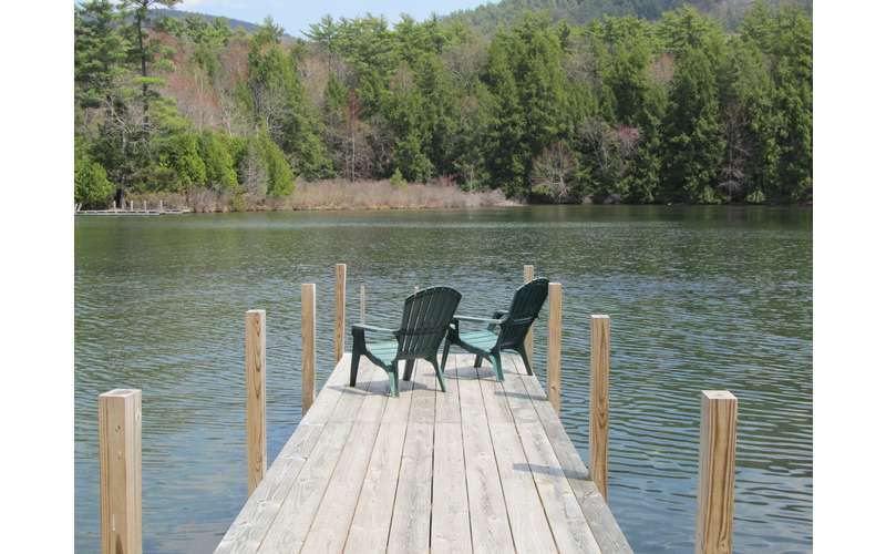 Amazing Lakefront Lake George House Rental with guest house - 3 BR, Sleeps 10, Pet Friendly, Dock. Full Renovation for 2019 Underway! (10)