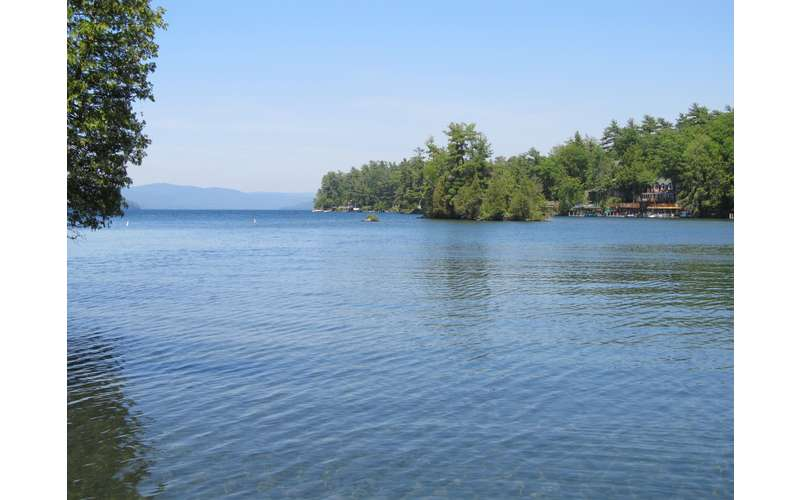Amazing Lakefront Lake George House Rental with guest house - 3 BR, Sleeps 10, Pet Friendly, Dock. Full Renovation for 2019 Underway! (12)